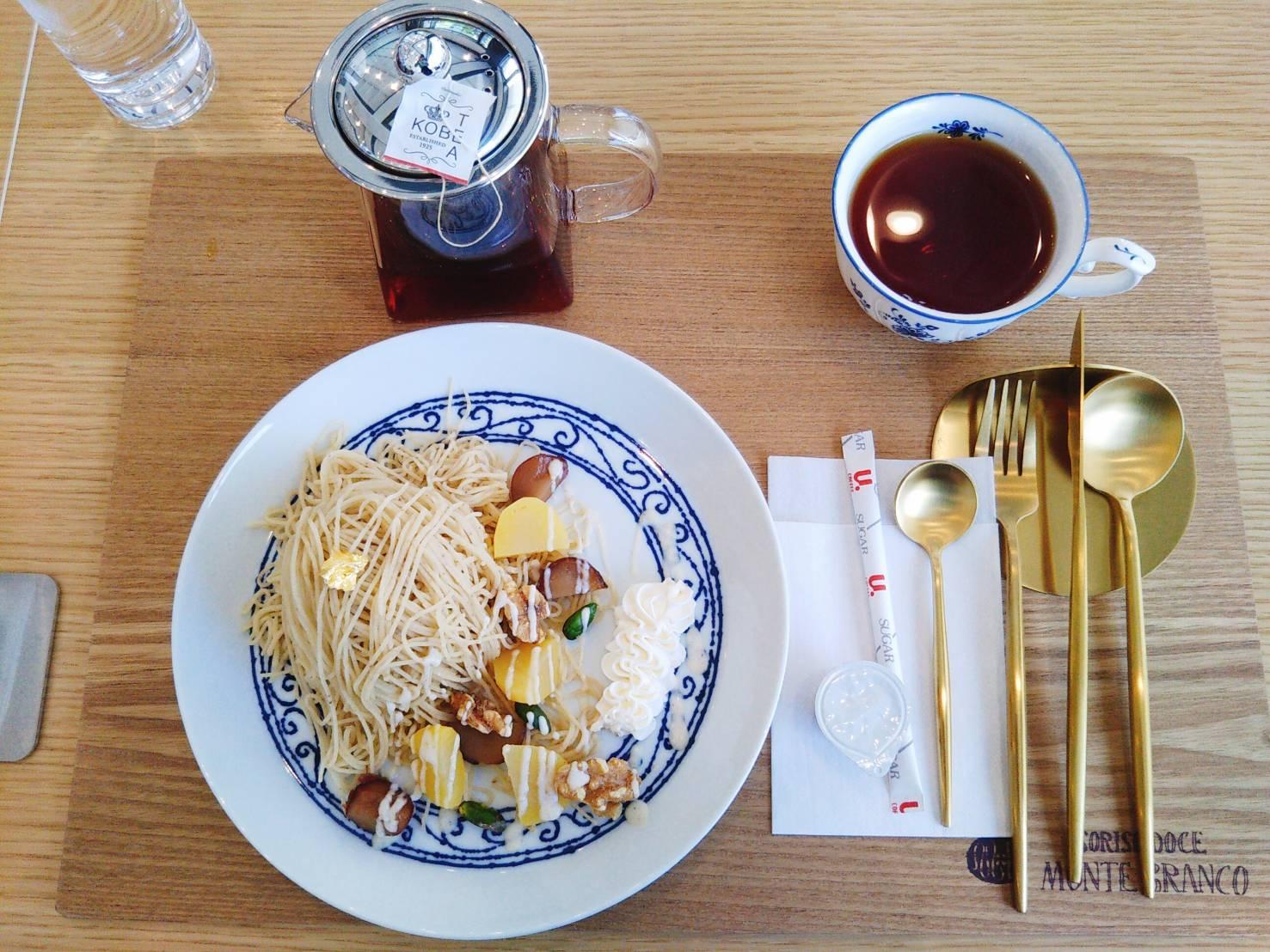 楽しめる!エンタメ性豊かなモンブランのお店『MONTE BRANCO(神戸モンテブランコ)』