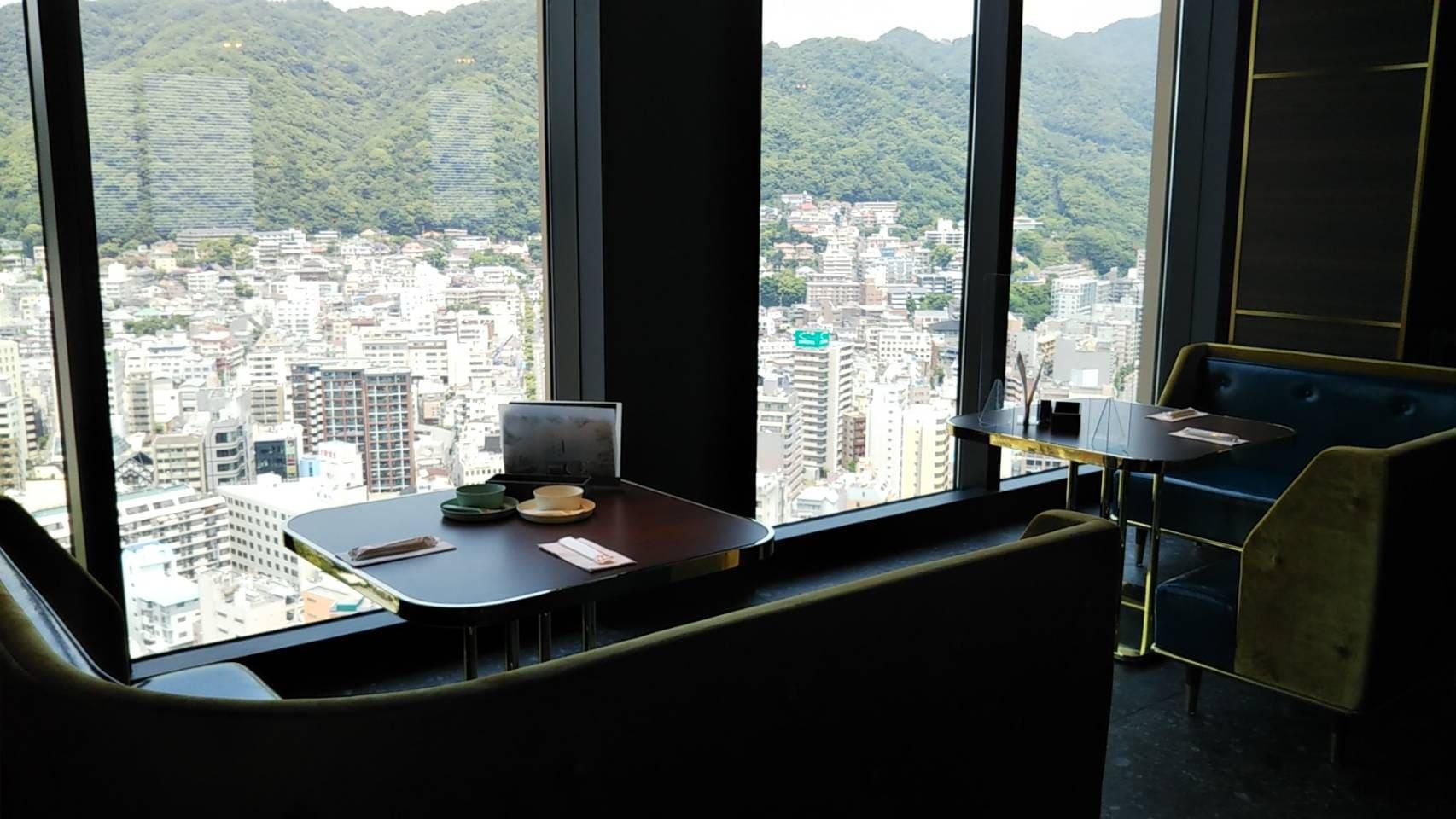 レストラン望海山からの眺望