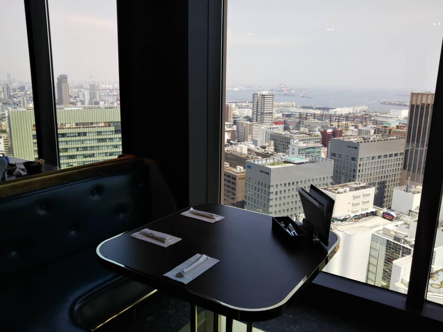 レストラン望海山からの眺望 海側の景色