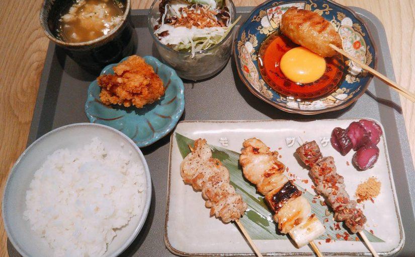 『食堂 勿ノ怪(モノノケ)』羊串、焼鳥、焼売、餃子など多種類楽しめる居酒屋さん