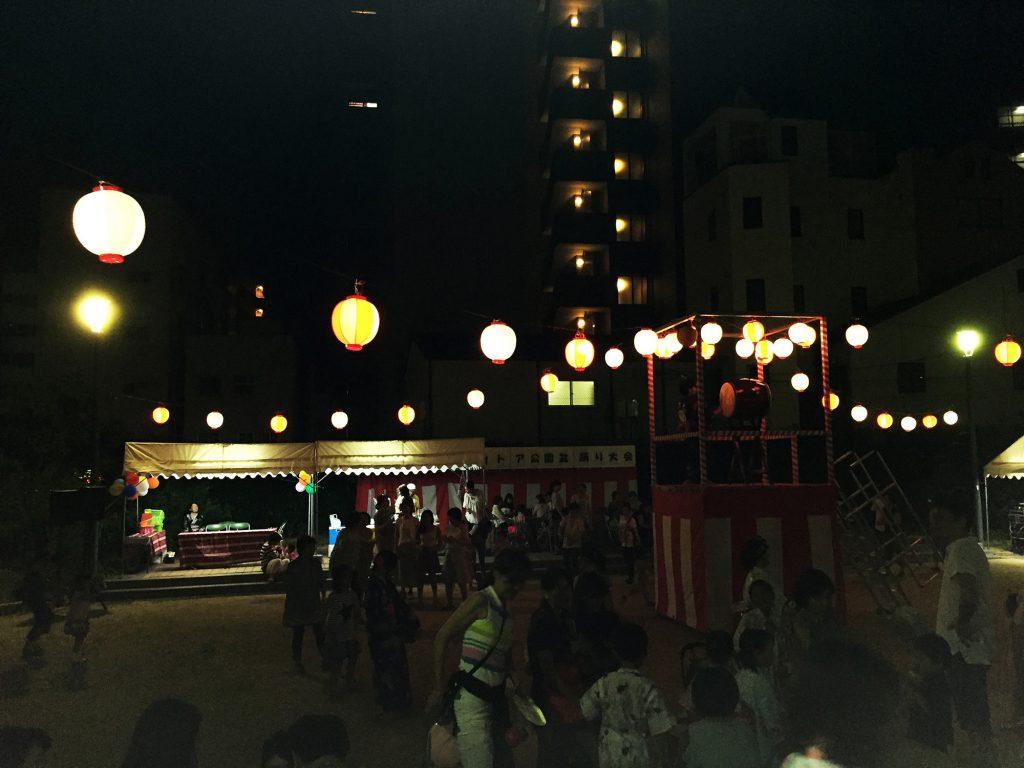 盆踊り(後半)