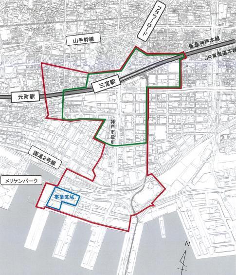 ベイシティタワーズ神戸事業計画地