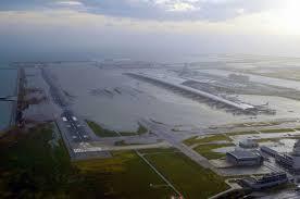 2018年台風影響で閉鎖時の関西国際空港