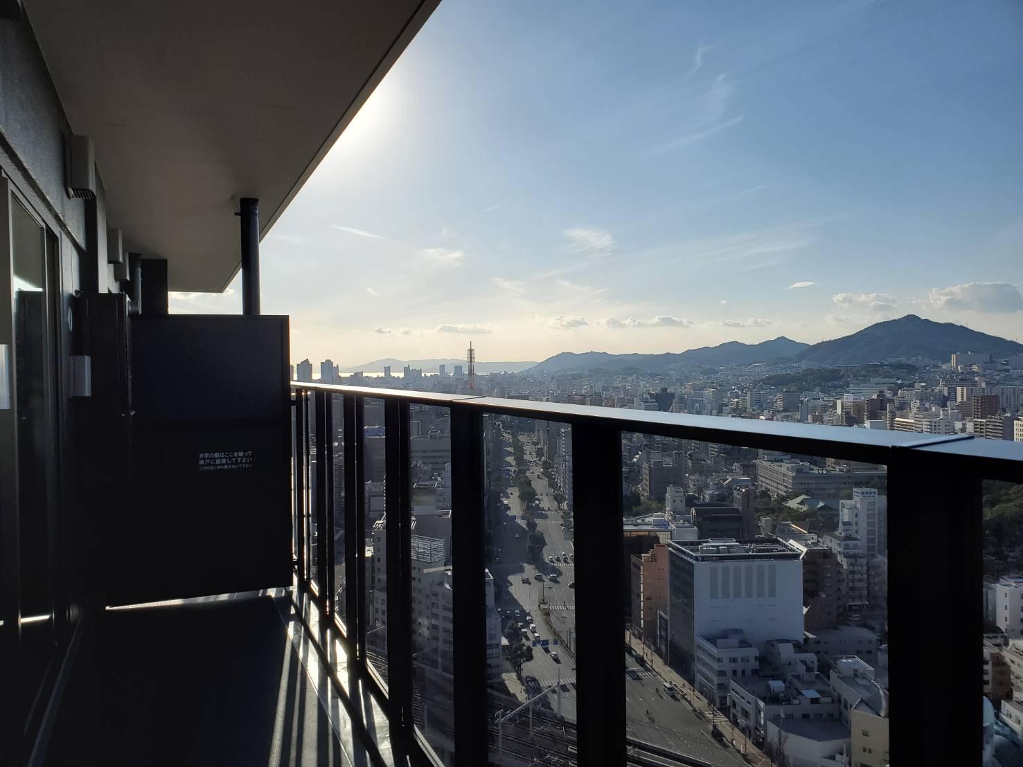 バルコニーからの眺望その2