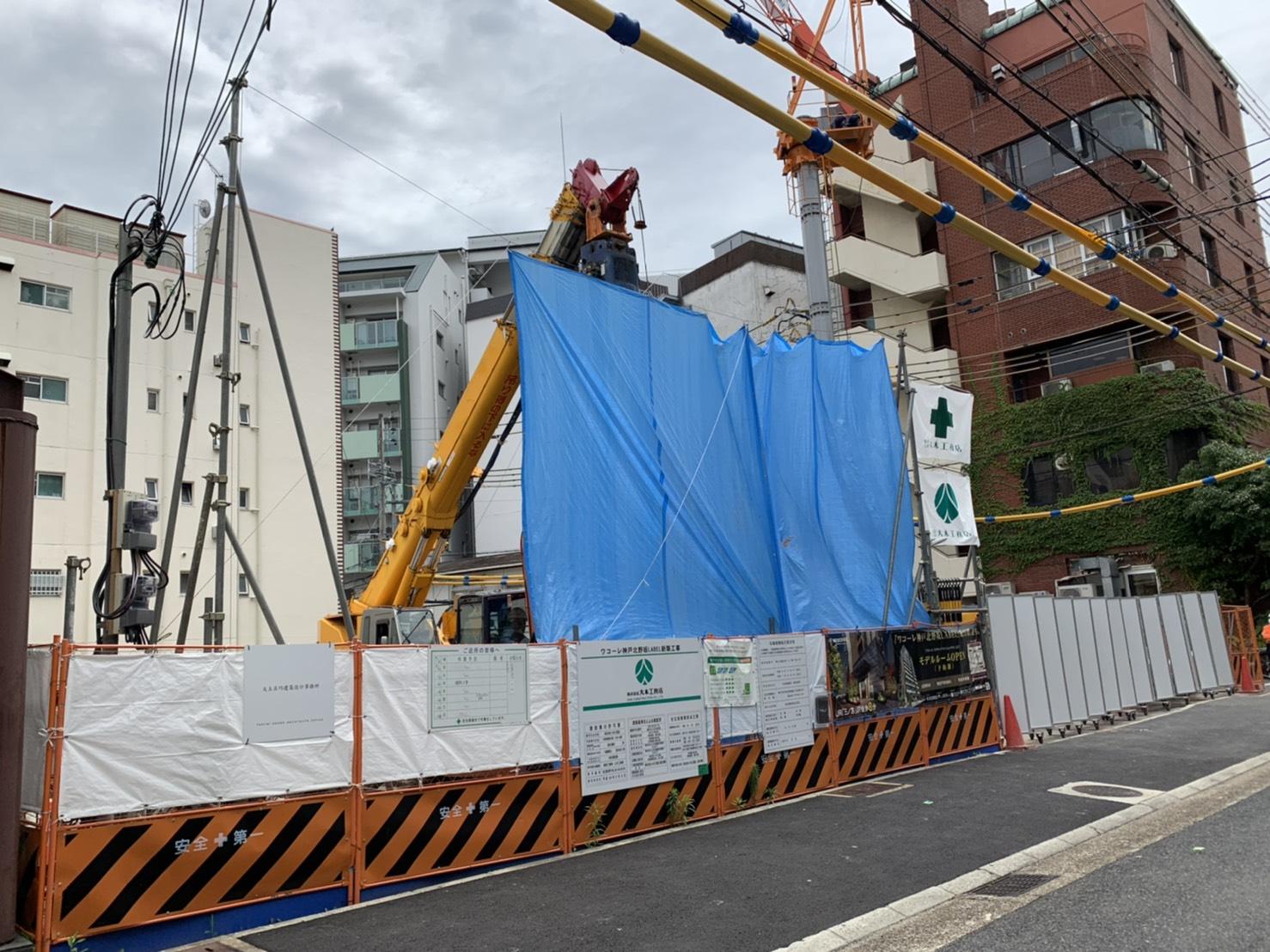 ワコーレ神戸北野坂LABEL建築場所